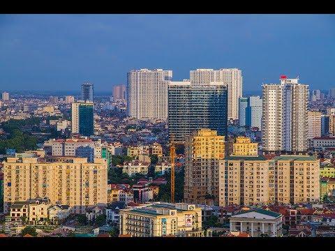 Hanoi panorama 360° - Toàn cảnh Hà Nội nhìn từ trên cao (363m)