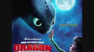 How to train your dragon Score: The downed dragon