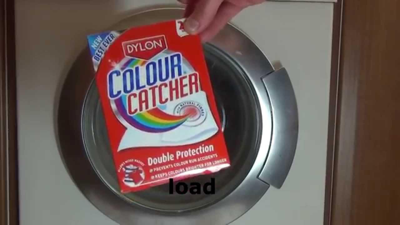 Colour catcher sheets - Dylon Colour Catcher Test And Review