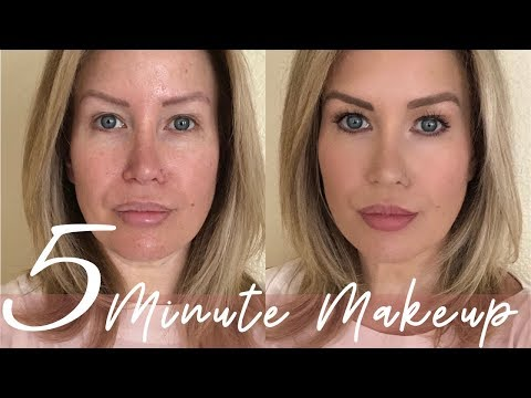 5 MINUTE QUICK AND EASY MAKEUP TUTORIAL | Risa Does Makeup thumbnail