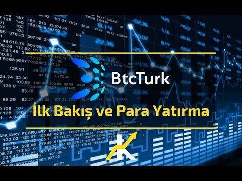 Kripto Ticaretine Giriş - BtcTurk'e İlk Bakış Ve Para Yatırma