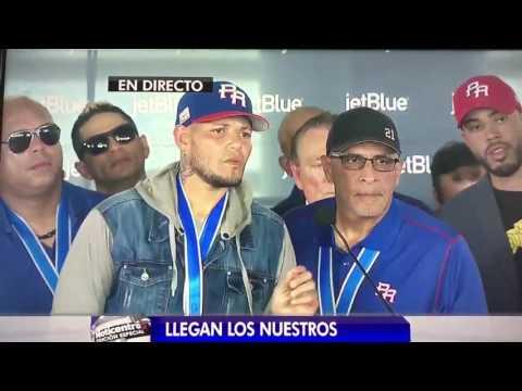 Recibimiento Equipo de Puerto Rico (23 mar. 2017)