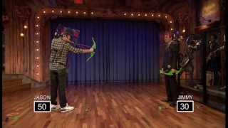 Z-Curve Bow game played by Jimmy Fallon and Jason Sudeikis!