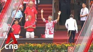 Prime Minister Lee Hsien Loong arrives at NDP 2019