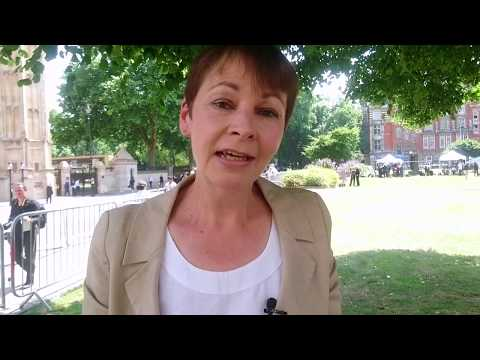 Caroline Lucas on the Queen