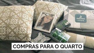 COMPRAS DE DECOR PARA O QUARTO | Vlog #96 | Lia Camargo para Pernambucanas