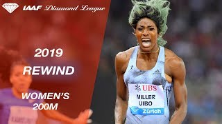 Women's 200m - IAAF Diamond League 2019