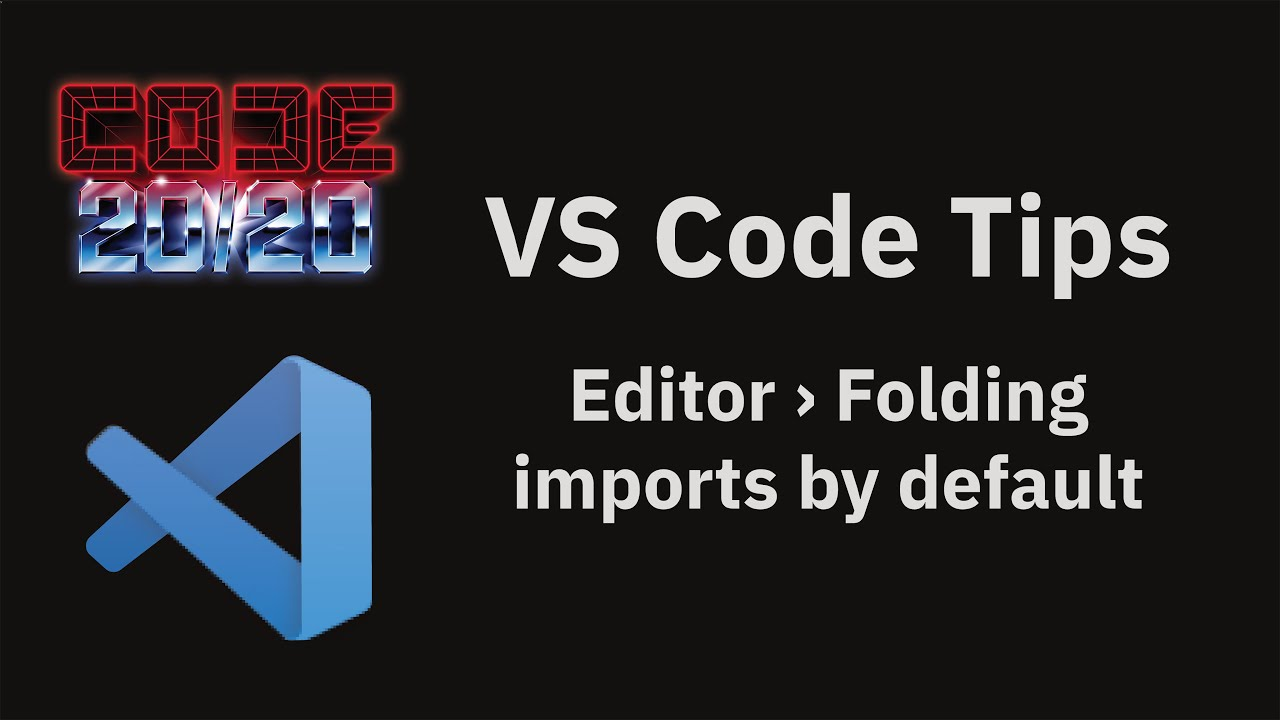 Editor › Folding imports by default