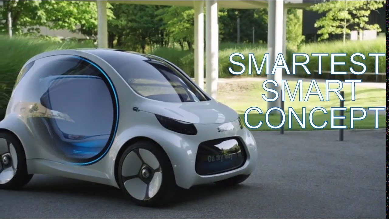 Lithium Ion Car Battery >> 2020 Smart Vision EQ Fortwo Concept : Official Video Brochure - YouTube