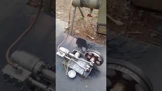 Moteur à vapeur artisanale avec chaudière