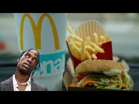 McDonald's NEW Travis Scott Meal Review !!!