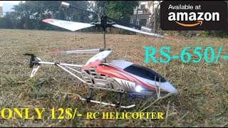 Best RC Helicopter Under 650 Rupees | 3.5 Channel LED - Unboxing & Testing | YT TECHNO TECH GURUJI