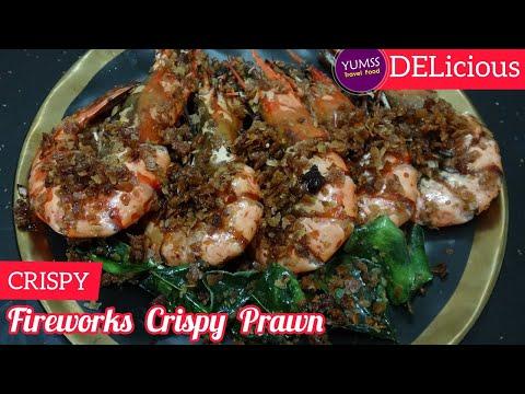 FIREWORKS CRISPY PRAWNS Fry / Simple Crispy Shrimp Cooking / Frying Crunchy Prawns :: Ep.22