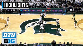 Highlights: Winston Leads MSU on an Emotional Night | Binghamton at Michigan State | Nov. 10, 2019