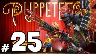 Puppeteer - Walkthrough PART 25 - Mr. Pink & General Rooster Boss Fight! (Act 6 Curtain 2)