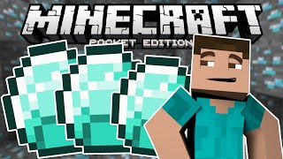 Minecraft PE | How To Find Diamonds FAST and EASY! (H2M)