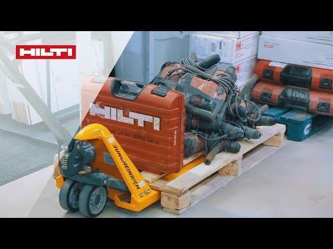 История одного инструмента в Сервисном центре Hilti