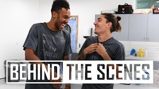 Arsenal stars return for pre-season training | Exclusive behind the scenes