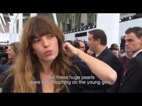 Chanel Spring-Summer 2013 Ready-to-Wear - VIP Interviews