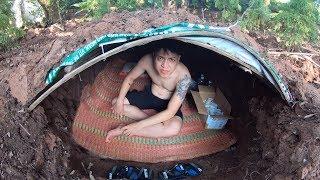NTN - Thử Thách 24H Ở Dưới Lòng Đất (Living under ground 24h challenge)