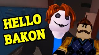 ROBLOX Hello Bakon Chapter 4 FULL GAMEPLAY