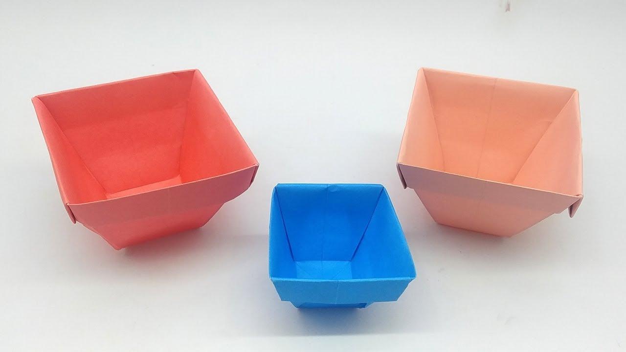 Easy Paper Flower Vase | How to Make a Paper Flower Vase At Home ... | 720x1280