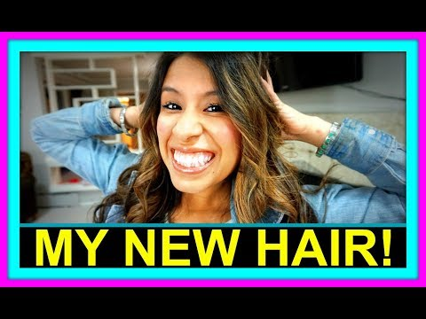 DESTINY'S NEW HAIR! | HOW WE DO CHORES!