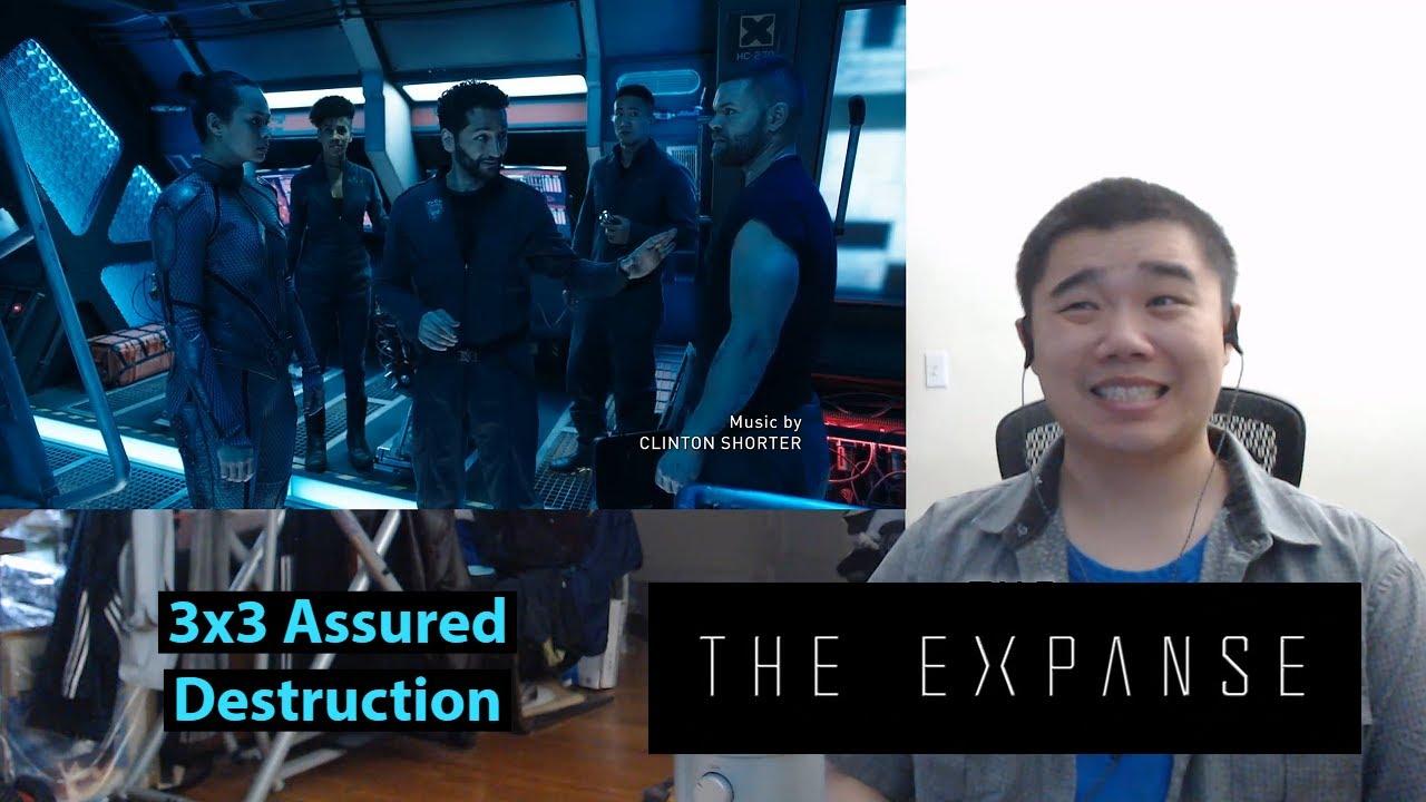 Download The Expanse Season 3 Episode 3: Assured Destruction Reaction and Discussion!