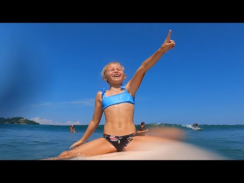 FAMILY SURF TRIP TO SAYULITA, MEXICO! PART 1 of 3 /// Kids Travel, Food, Surf Routine