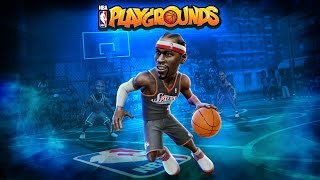 NBA playgrounds - Jogando, testando e descobrindo como jogar (Português PT-BR)