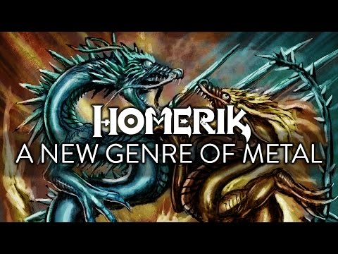 HOMERIK: A NEW, EPIC Genre of METAL!! 😈 😈 😈