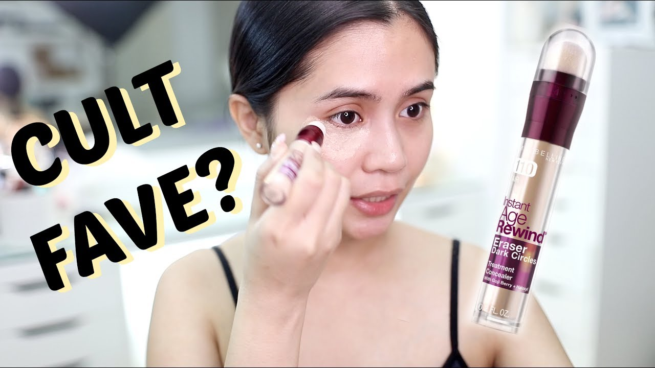 CULT FAVE CONCEALER? Maybelline Instant Age Rewind! | Anna Cay ♥