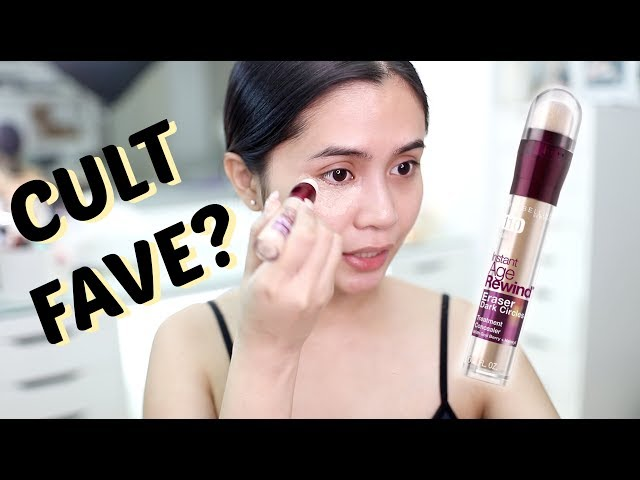 CULT FAVE CONCEALER? Maybelline Instant Age Rewind!   Anna Cay ♥