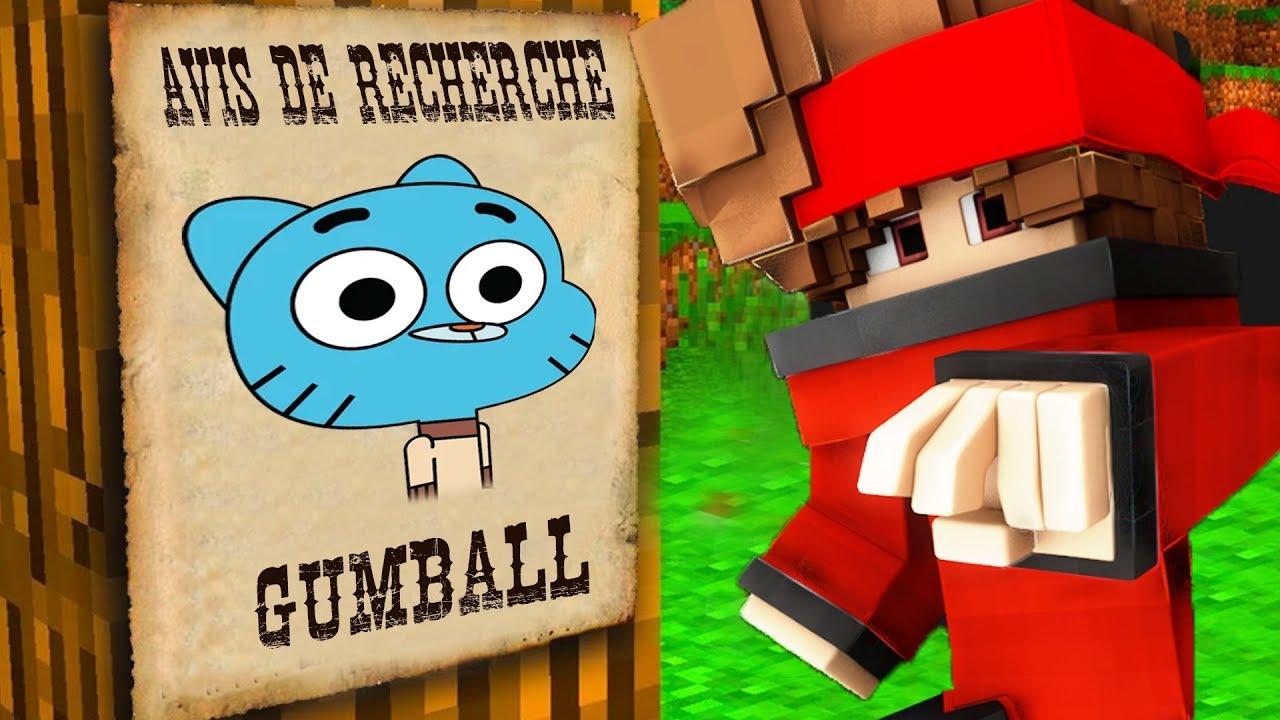 Download GUMBALL EST RECHERCHÉ SUR MINECRAFT !!! (Gumball et Hello Neightbours)