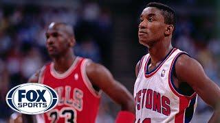 Michael Jordan addresses why Isiah Thomas was left off the '92 Dream Team | FOX SPORTS