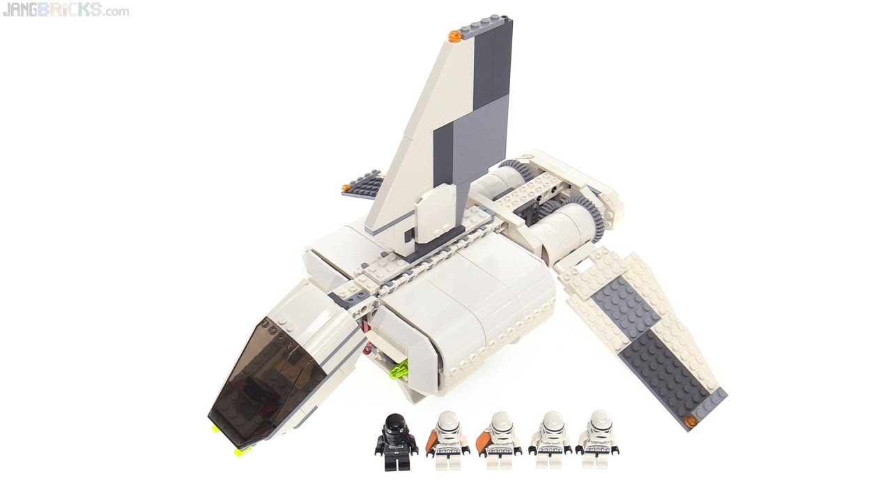 Lego Star Wars Imperial Landing Craft From 2007 Set 7659 Youtube