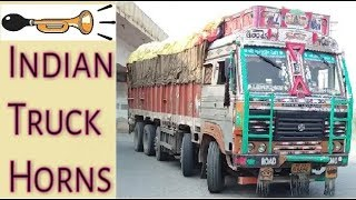INDIAN TRUCK HORNS of Different Types