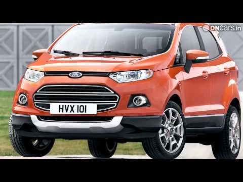 Video: Ford shows off European-spec EcoSport