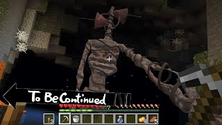 This is Real SIREN HEAD in Minecraft To Be Continued part 4 Scooby Craft