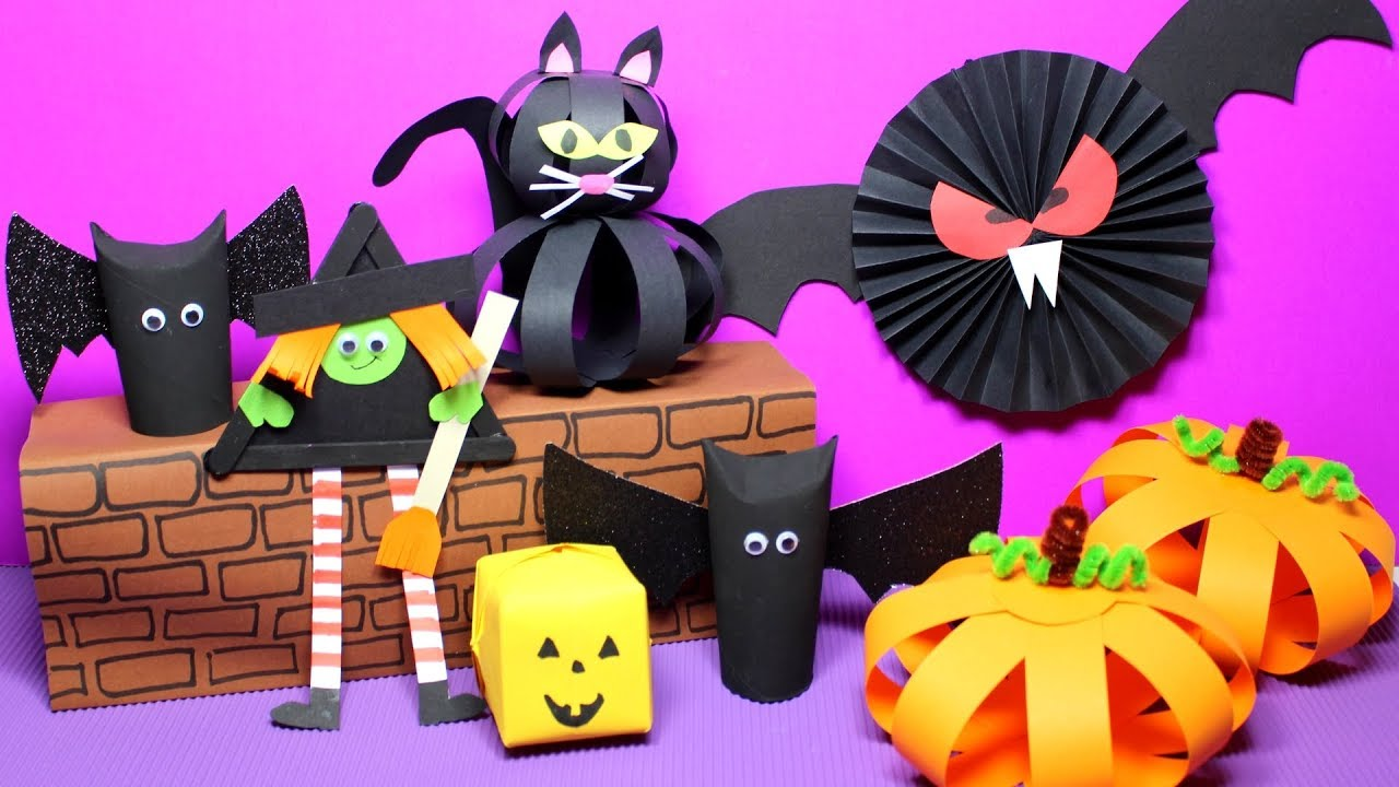 Marvelous Easy Halloween Crafts For Kids | Halloween Craft Ideas