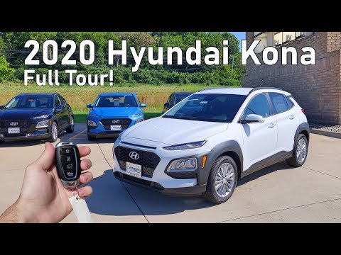 2020 Hyundai Kona SEL | Full Tour + Changes for 2020!