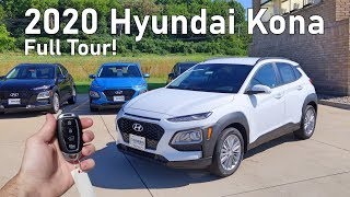 2020 Hyundai Kona Sel | Full Tour + Changes For 2020!