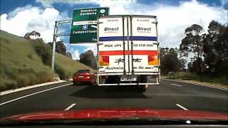 South Bound on the M5 Campbelltown NSW