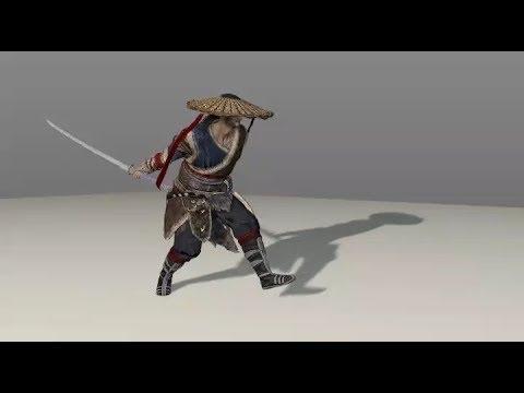 武侠乂 The Swordsmen X, 3D Models+animations (.c4d)