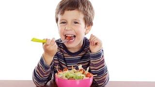 Здоровый рацион ребенка