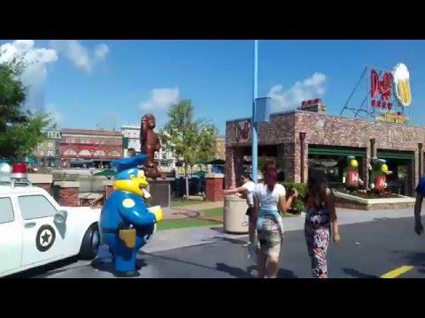 Universal Studios com crianças