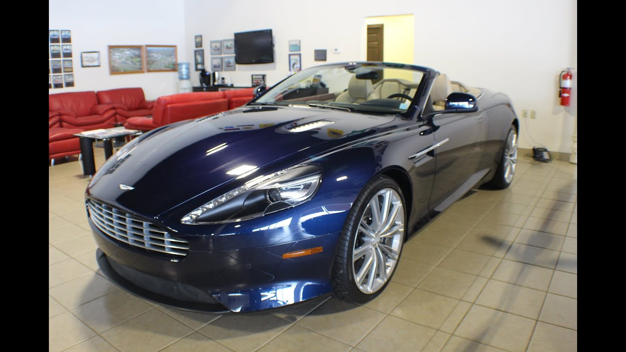 2013 aston martin db9 volante for sale in canton ohio. Black Bedroom Furniture Sets. Home Design Ideas