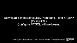 Configure Netbeans with MySQL (XAMPP)