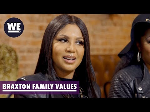 'Tamar Divorced & Toni Married?' Sneak Peek | Braxton Family Values | WE tv