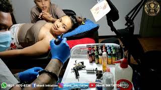 Tato Mawar Di Dada Cw Bikin Pengen.. | Obank Ink Tattoo